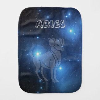 Transparent Aries Burp Cloth
