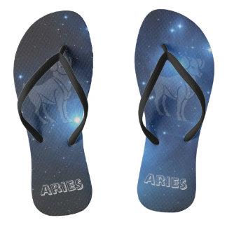 Transparent Aries Flip Flops