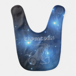 Transparent Capricorn Bib