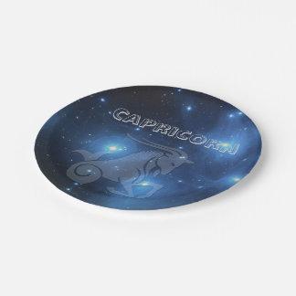 Transparent Capricorn Paper Plate