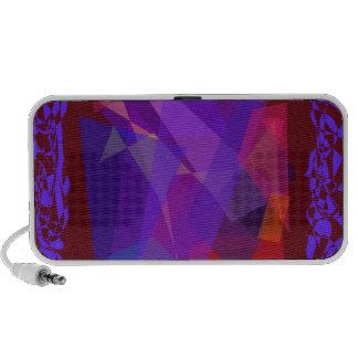 Transparent Dark Travelling Speakers