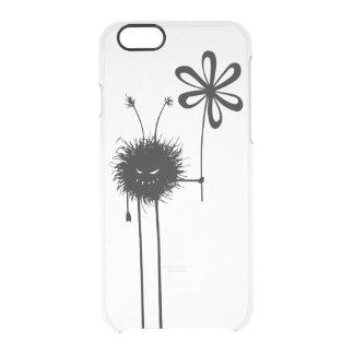 Transparent Evil Flower Bug Vintage iPhone 6 Plus Case