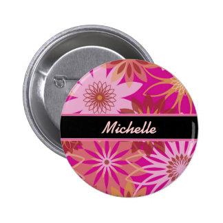 Transparent Flower Pin