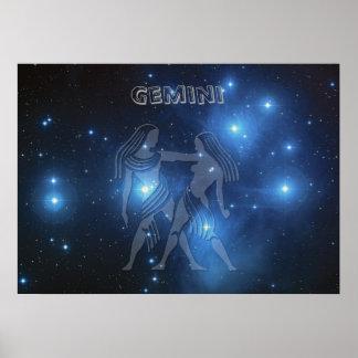 Transparent Gemini Poster