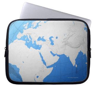 Transparent Globe 2 Laptop Sleeve
