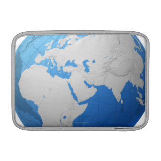 Transparent Globe 2 MacBook Sleeve
