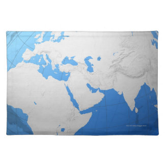 Transparent Globe 2 Placemat