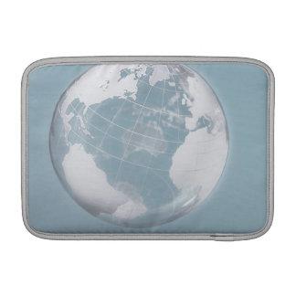Transparent Globe 3 MacBook Sleeve