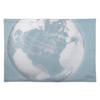 Transparent Globe 3 Placemat