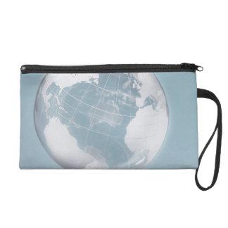 Transparent Globe 3 Wristlets