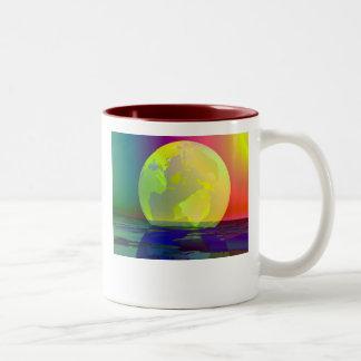 Transparent Globe Coffee Mug