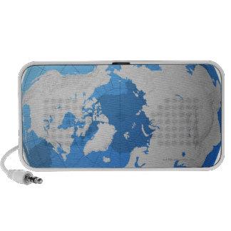 Transparent Globe Mp3 Speakers