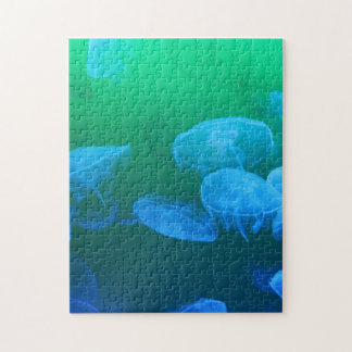 Transparent Jellyfish Jigsaw Puzzle