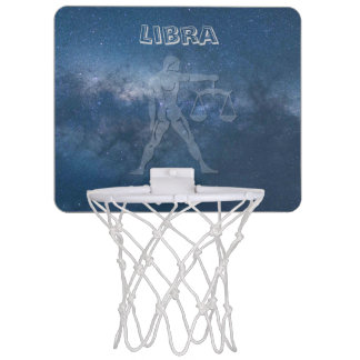 Transparent Libra Mini Basketball Hoop