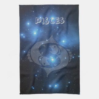 Transparent Pisces Tea Towel