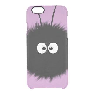 Transparent Purple Cute Dazzled Bug Character iPhone 6 Plus Case