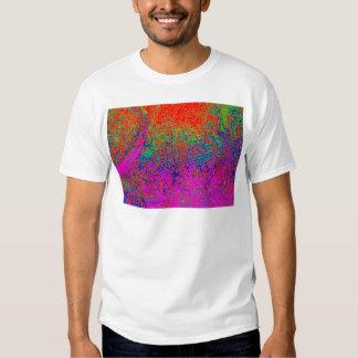 transparent rainbow elephant tee shirt