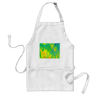 transparent rainbow fabric standard apron
