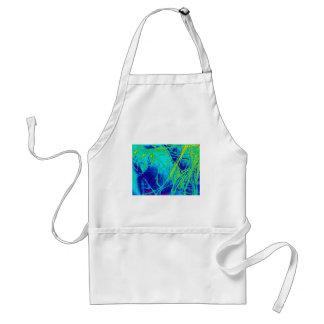 transparent rainbow reverse fabric standard apron