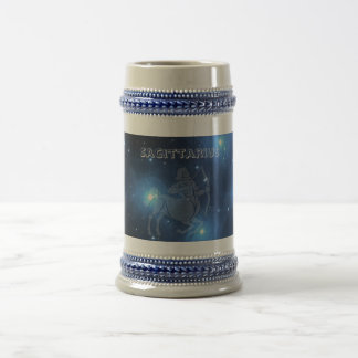 Transparent Sagittarius Beer Stein