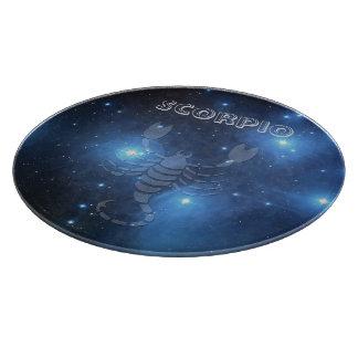 Transparent Scorpio Cutting Board