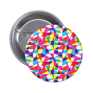 Transparent triangles pattern pin
