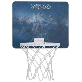 Transparent Virgo Mini Basketball Hoop