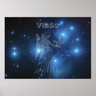 Transparent Virgo Poster