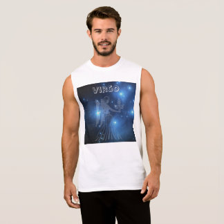 Transparent Virgo Sleeveless Shirt