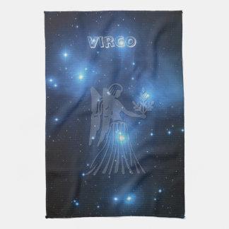 Transparent Virgo Tea Towel