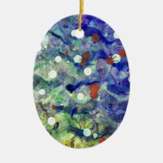 Transparent war of Color's V2 Ceramic Oval Decoration