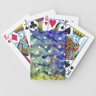 Transparent war of Colour's V2 Bicycle Playing Cards
