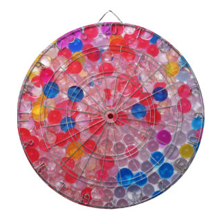 transparent water balls dartboard with darts