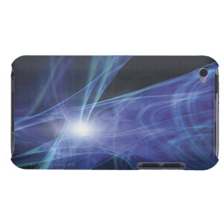 Transparent Waves iPod Touch Cases