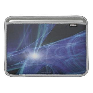 Transparent Waves MacBook Sleeve