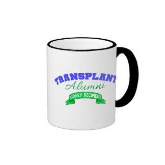 Transplant Alumni - Kidney Recipient Ringer Mug