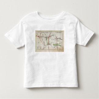 Transport map of London, c.1915 Toddler T-Shirt