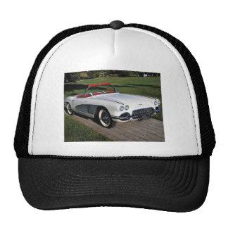 Transportation 077 classic cars corvette a classic mesh hat