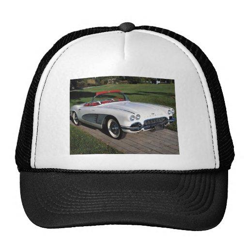 Transportation 077,classic cars,corvette,a classic mesh hat