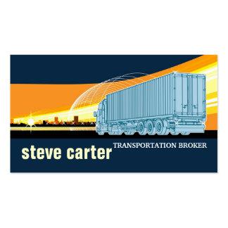Transportation And Logistics Business Cards