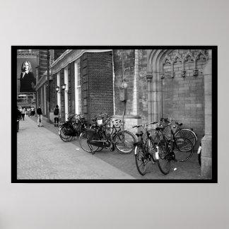 Transportation in Amsterdam Poster
