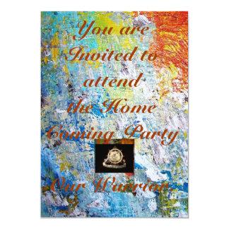 Transportation Invatation: Home Coming Party 13 Cm X 18 Cm Invitation Card