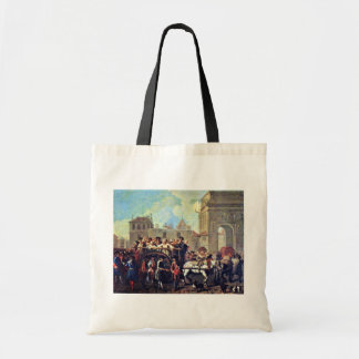 Transportation Of Prostitutes To The Police Statio Tote Bag