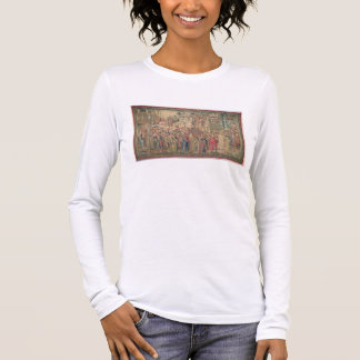 Transportation of the Ark of the Covenant, Tapestr Long Sleeve T-Shirt