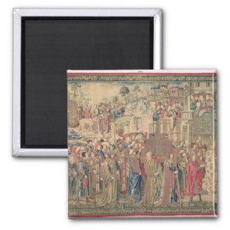 Transportation of the Ark of the Covenant, Tapestr Magnet