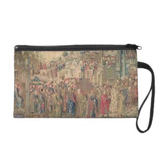 Transportation of the Ark of the Covenant, Tapestr Wristlet Purses