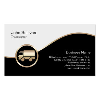 Transporter Business Card Truck TransportationIcon