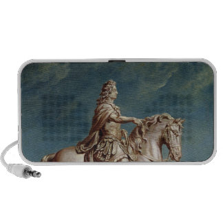 Transporting the Equestrian Statue of Louis XIV Notebook Speaker