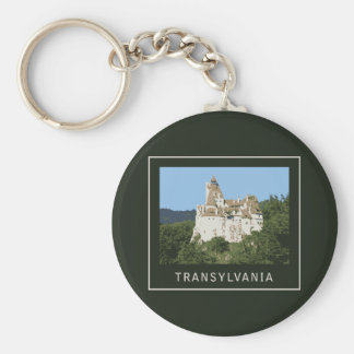 Transylvania Bran Castle Key Ring