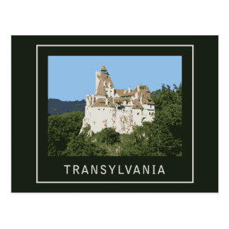 Transylvania Bran Castle Postcard